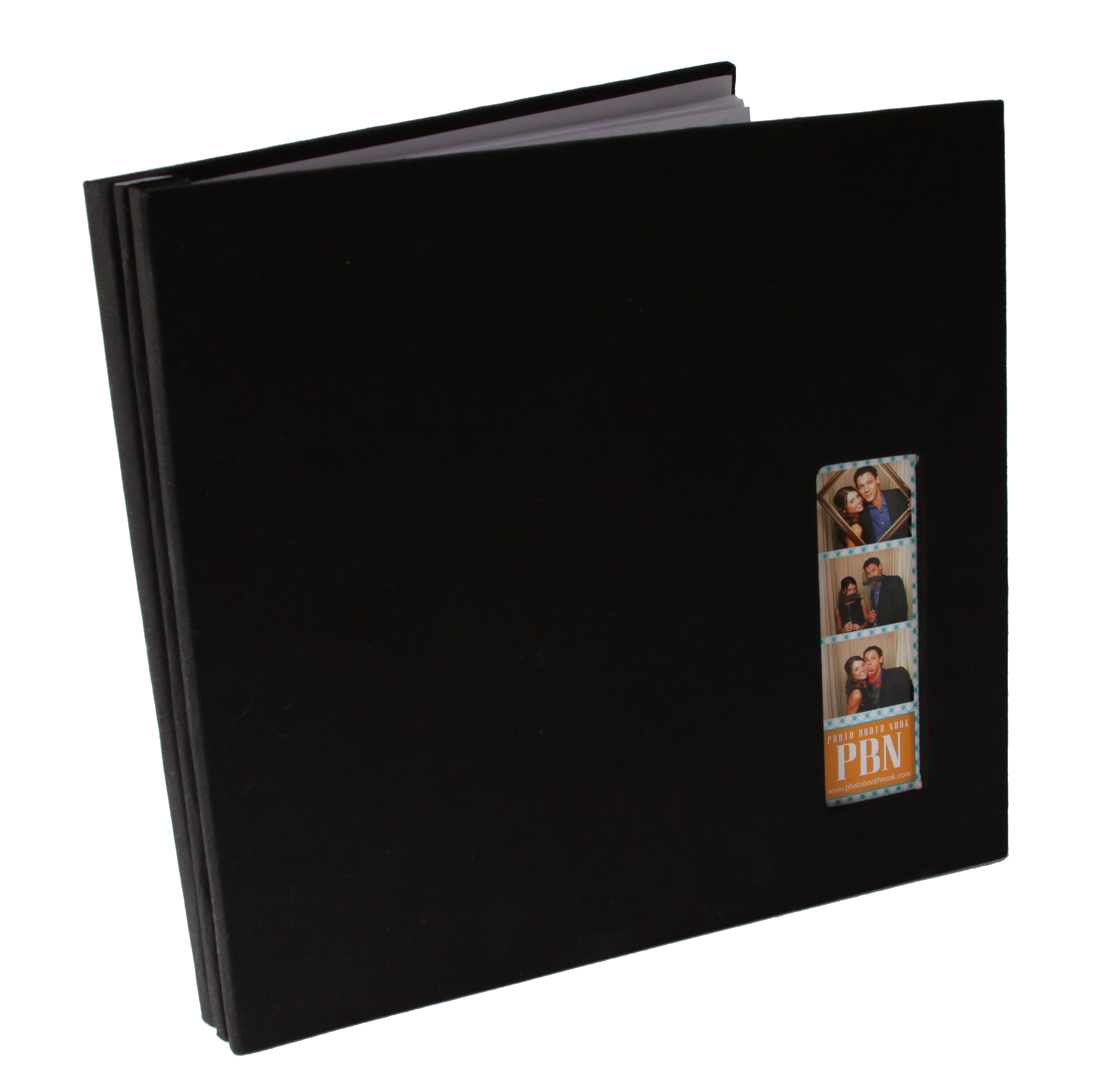Fabric Cover Photo Booth Scrapbook