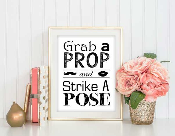 Grab a Prop and Strike a Pose