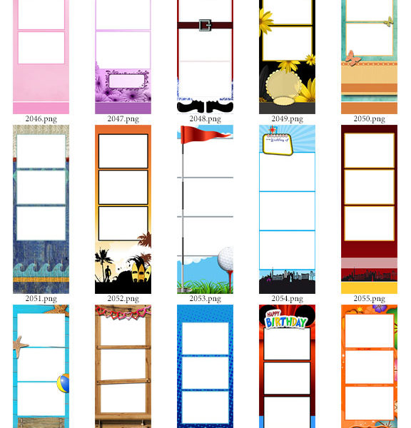 Photo Strip Templates | Product Categories | The ProBooth Market ...